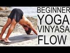 Beginner Vinyasa Flow Yoga With Tim Senesi - YouTube