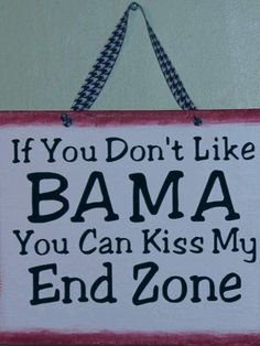 Kiss my end zone