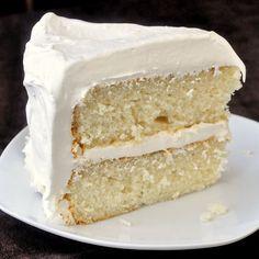 White Velvet Cake - developed from an outstanding Red Velvet Cake recipe