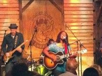 Ruthie Foster and her band gave a capacity crowd an evening to remember at Houston's Dosey Doe Cafe. Video, pics, and a description of a successful talent coming home to Texas for an evening. #examinercom