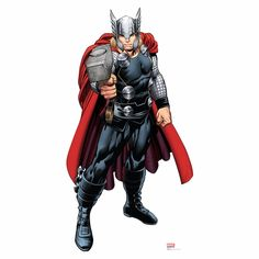 Avengers Assemble Thor Lifesized Standup