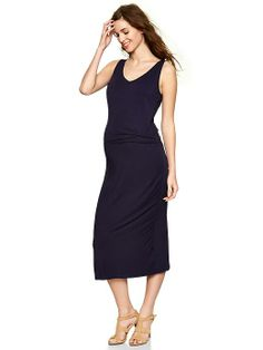 Perfect midi dress in cotton by @Gap