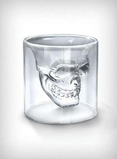Skull Shot Glass...cool for Halloween
