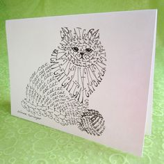 Hey, I found this really awesome Etsy listing at http://www.etsy.com/listing/100006427/cat-word-art-cards-set-of-4
