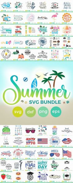 Summer SVG Bundle (S