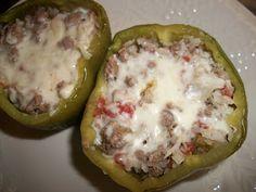 Sandy's Kitchen: Stuffed Green Peppers