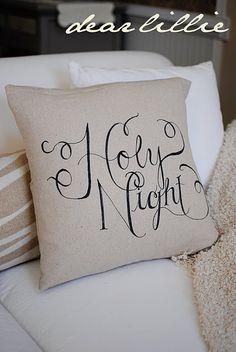 Sharpie on pillow
