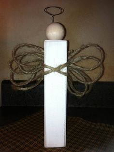 Rustic Angel - Simple idea by L'il Sunflower PaperWorks