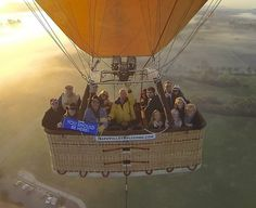 Hot air balloon ride in Napa! #worldventures #youshouldbehere