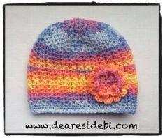 Crochet Baby Chemo Cap - Dearest Debi Patterns