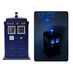 Doctor Who TARDIS Projection Alarm Clock