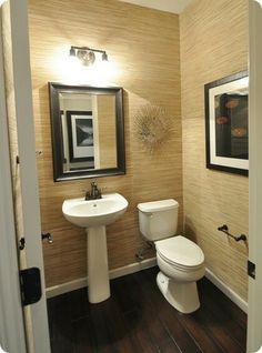 remodelaci n on pinterest On medio baño moderno