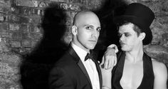 Brad and Rudy - Weimar gents underground for Kabarett, April 26, 2014 mnop.co/kabarett