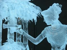 World Ice Sculpture Championship in Fairbanks, Alaska