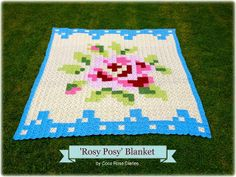 Coco Rose Diaries - Rosy Posy blanket