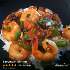 "Szechwan Shrimp | ""This recipe is wonderful. I can't believe how tasty it came out using simple kitchen ingredients. I doubled the sauce amount as suggested by others and served it over brown rice. This recipe is a definite keeper."""