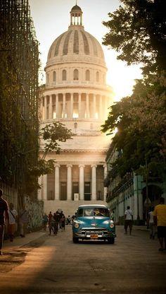 El Capitolio - La Habana, Cuba #travel #wanderlust