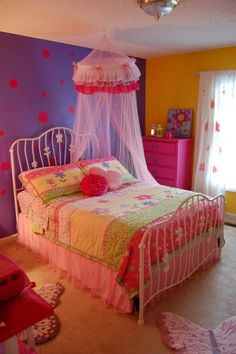 Little girls room on pinterest for 4 yr old bedroom ideas