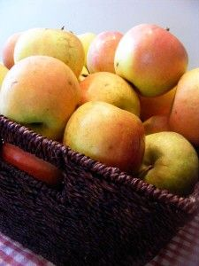 How to Freeze Apples by Once a Month Mom | OAMC from Once A Month Mom