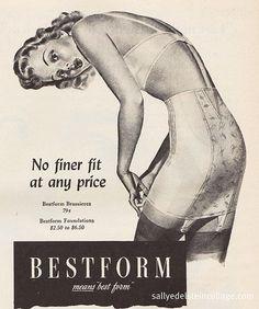 Best Form Lingerie #vintage girdles #vintage lingerie vintage lingerie, vintag lingeri, lingeri vintag, bestform lingeri, retro, lingeri inspir, lingeri ad