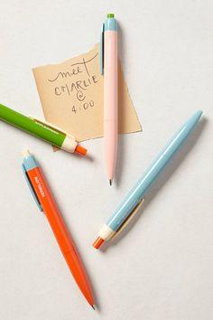 Colorblock Pen by Poketo