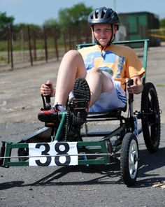 PEDAL car racers from across the UK travelled to Ashbourne at the weekend for the 74th annual National Scout Car Race.