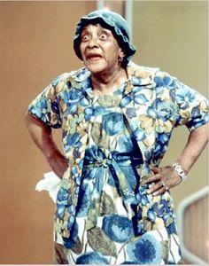 Moms-Mabley  vaudeville comedian ~ died in 1975