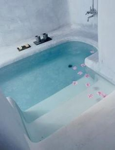 walk-in tub.