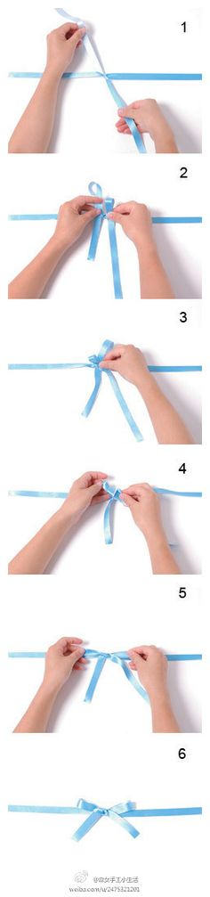 how to make a bow (chinese link, photo inspiration only)