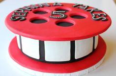 cocoa & fig: Custom Film Reel Cake