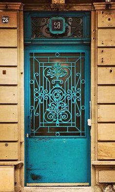 Strasbourg, Alsace, France door-