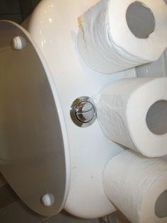 West Bank: Little flush, big flush. Submitted by Lori Bakken.