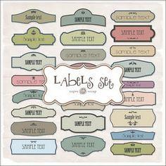 craft, vintage labels, freebi label, freebi blog, super freebi, free printabl, label set, free label, label kit