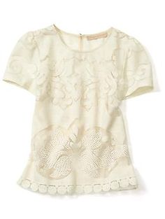 lace tee / piperlime