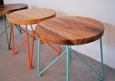 """GARZA FURNITURE, 18"""" STOOL: they also have cool tables, chairs, benches, etc."""