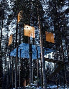 Treehotel Mirrorcube