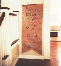 Count your many blessings! Great idea for the month of November.