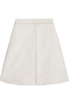 Proenza Schouler Tweed A-line skirt | NET-A-PORTER