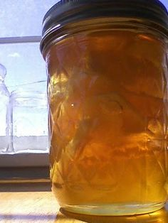 gingered honey for colds and cough
