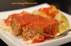 Amazingly Moist and Flavorful Turkey Meatloaf | ShesGotFlavor