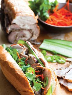 Lemongrass Pork recipe and Banh Mi tips from Charles Phan's Vietnamese Home Cooking