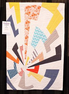 Off Center by Charlotte Noll by shecanquilt, via Flickr