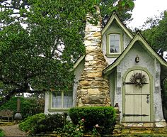 little houses, stone cottag, fairy tales, storybook homes, dream houses