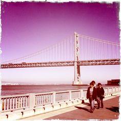 Taking a walk in our back yard ;)(Embarcardero, San Francisco)