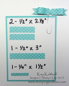 Stamping to Share: 5/31 Paper Bows on Paper Clips with a Video Tutorial! 531, stamp, tutorials, share, idea, paper bows, papers, video tutori, paper clip