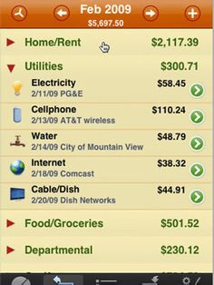 The Best iPhone Apps for Parents: HomeBudget (via Parents.com) - this app rocks. Since Seth and I both have iPhones, our data syncs automatically. Using it is like balancing your checkbook and tracking your expenses all in one place. Definitely the heartbeat of keeping up with our budget & spending.