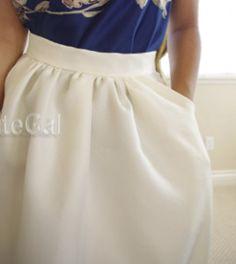 J. Crew Inspired Classic Skirt   AllFreeSewing.com