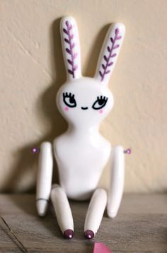 Les Folles Marquises: Une journée à l'atelier - Me, myself and my studio Polymer clay doll
