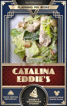 Walt Disney World Planning Pins: Catalina Eddie's