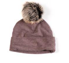 Cashmere Pom Hat